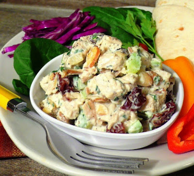 Greek Yogurt and Honey Dijon Chicken Salad