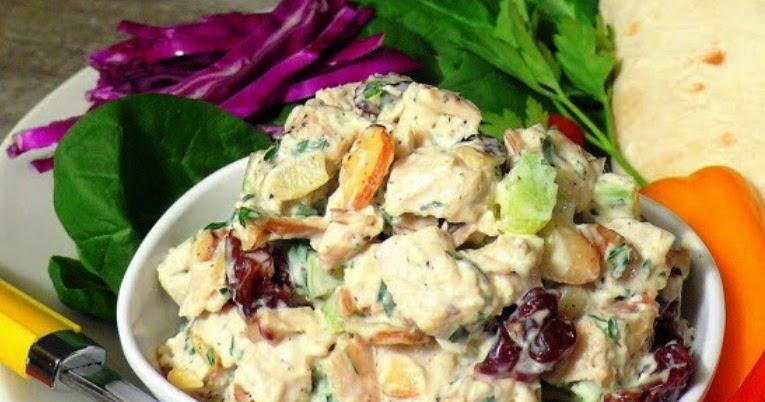 The Bestest Recipes Online: Greek Yogurt and Honey Dijon Chicken Salad