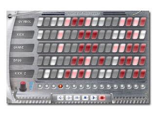 Mega Music Maker Drum Sequencer