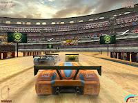 لعبة سيارة الغاز والرمل