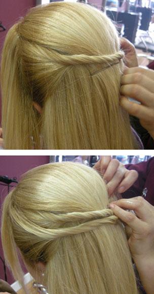 Como Hacer Hermoso Peinado de Gala Paso a Paso Easy Updo  - Altos Peinados Paso A Paso
