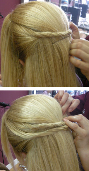 Más de 1000 ideas sobre Peinados Faciles Para Fiesta en Pinterest