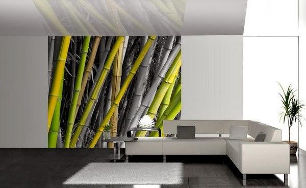 tapisserie bambou. Black Bedroom Furniture Sets. Home Design Ideas
