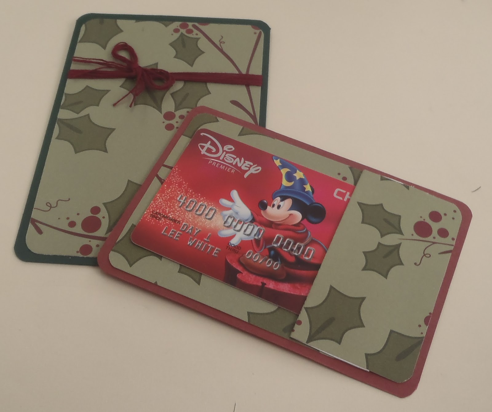 Mashed potatoes and crafts christmas gift card holder for Christmas card holder craft project