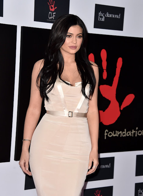 Actress, Model, @ Kylie Jenner - 2nd Annual Diamond Ball in Santa Monica