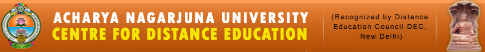 Recruitment Cell :Acharya Nagarjuna University, Centre for Distance Education