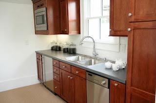 dark brown kitchen cabinets photo