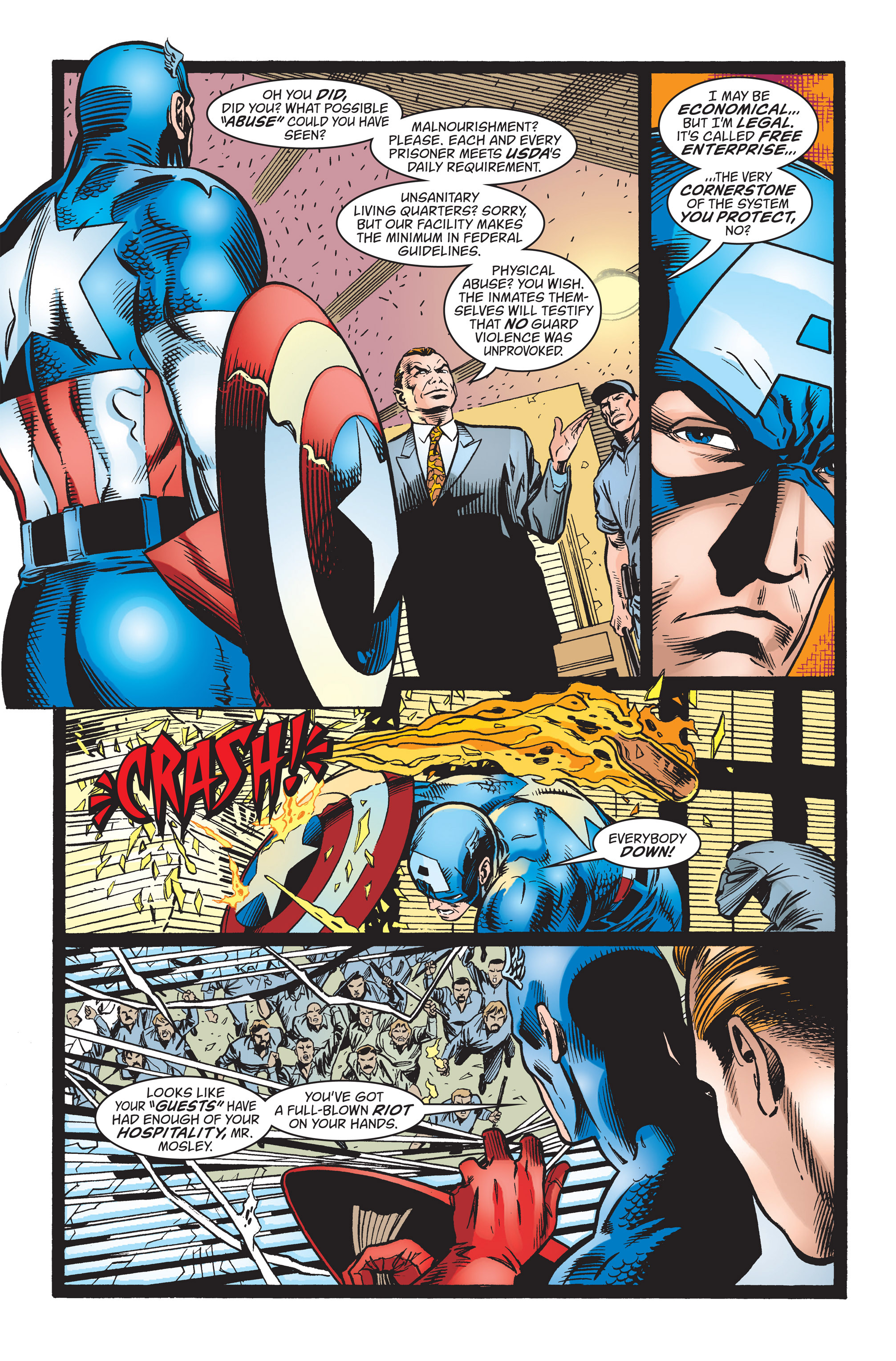 Captain America (1998) Issue #23 #29 - English 14