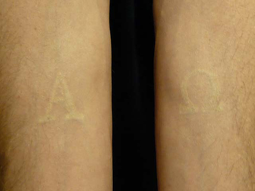 Free tattoo pictures white tattoos a unique touch for How to lighten a tattoo with white ink