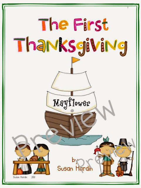 http://www.teacherspayteachers.com/Product/The-First-Thanksgiving-Mayflower-Voyage-166788
