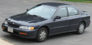 Most commonly stolen vehicle Honda Accord