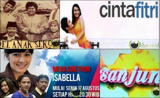 7 Film Sinetron yang paling Unik di Indonesia