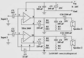 Tda1554 22w Stereo  lifier Circuit further lifierckt blogspot moreover Simple 50w  lifier Circuit additionally Led Clipping Circuit besides Constant voltage transformer. on lm741 circuit diagram 5