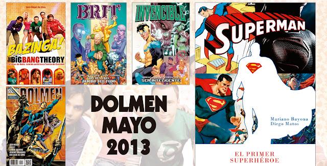 Novedades Mayo Dolmen 2013
