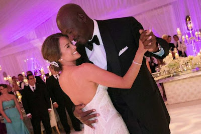 michael jordan wedding photos