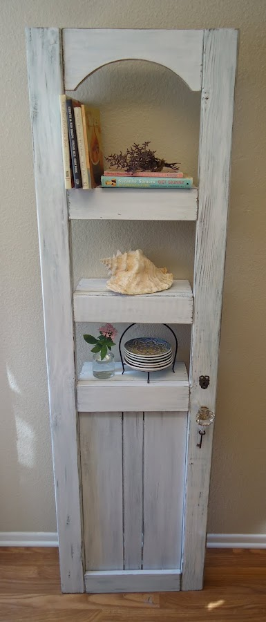 Shabby Chic Door/Shelf - Available $175