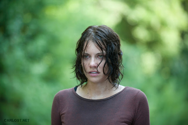 Maggie Greene (Lauren Cohan) en The Walking Dead 4x10 Inmates