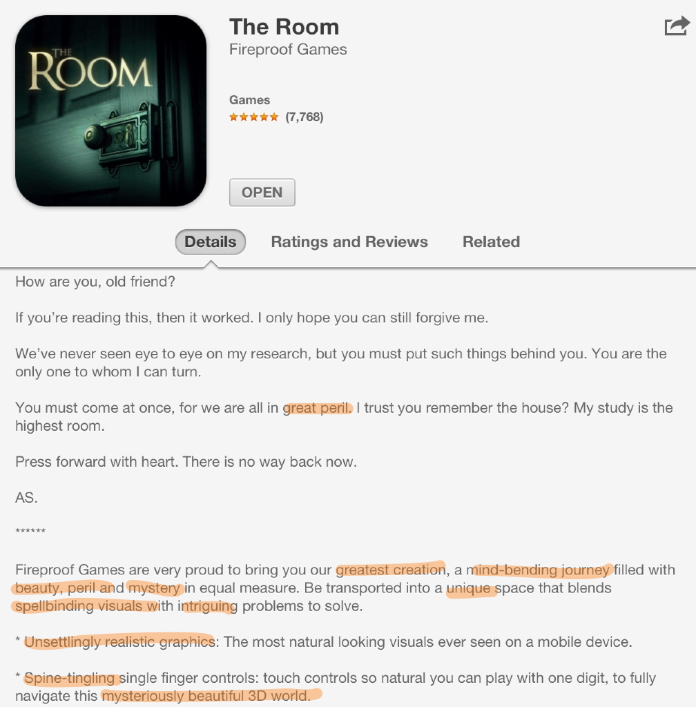 inspiring children transforming learning using the app store for the room persuasive language in the app store