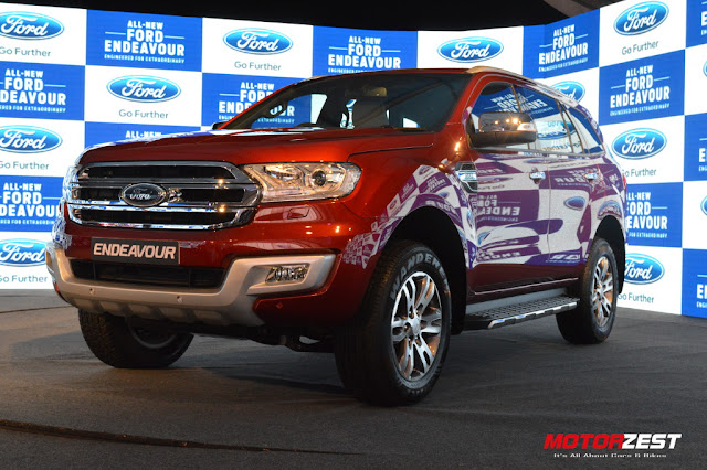 2016 Ford Endeavour India Launch
