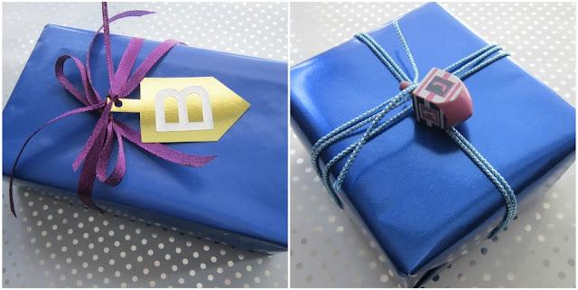 Design megillah chanukah gift wrap for Hanukkah crafts for adults