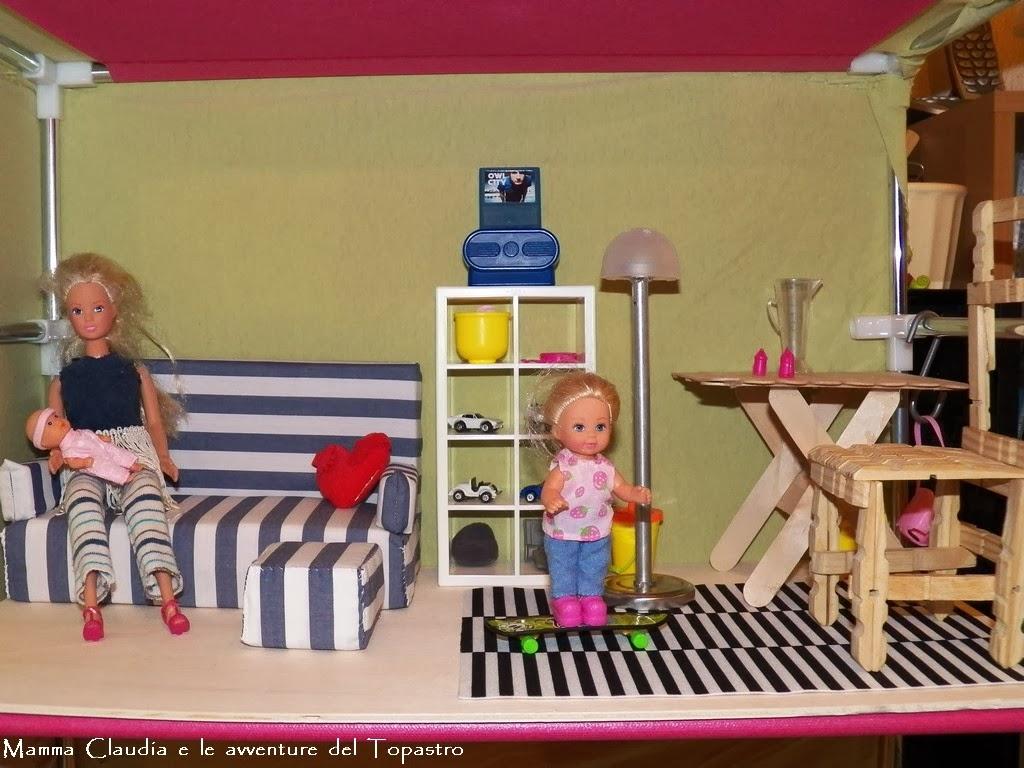 Costruire Una Casa Delle Bambole Di Legno : Mamma claudia e le avventure del topastro casa di barbie fai da