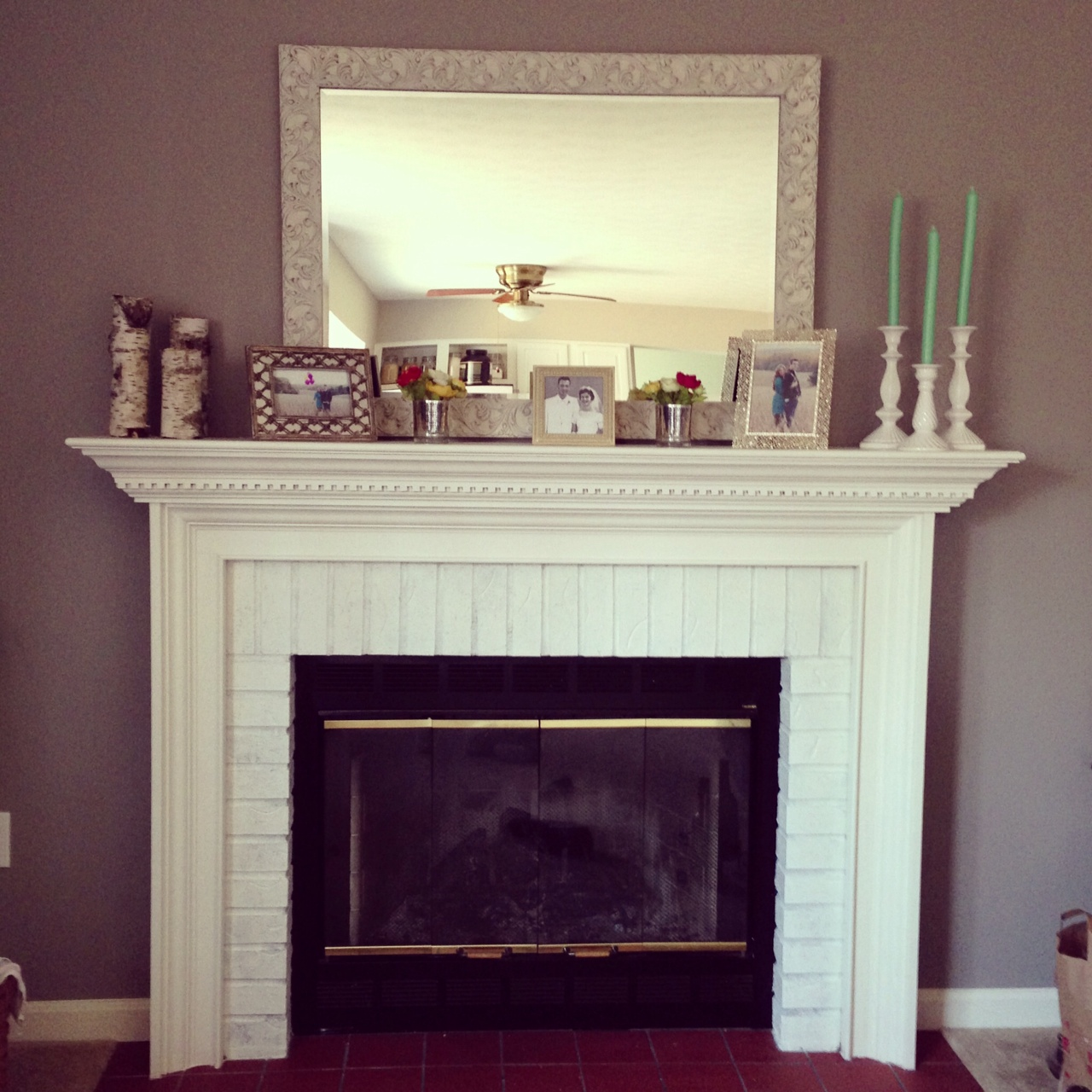 chic meets healthy fireplace hearth pt 1 herringbone