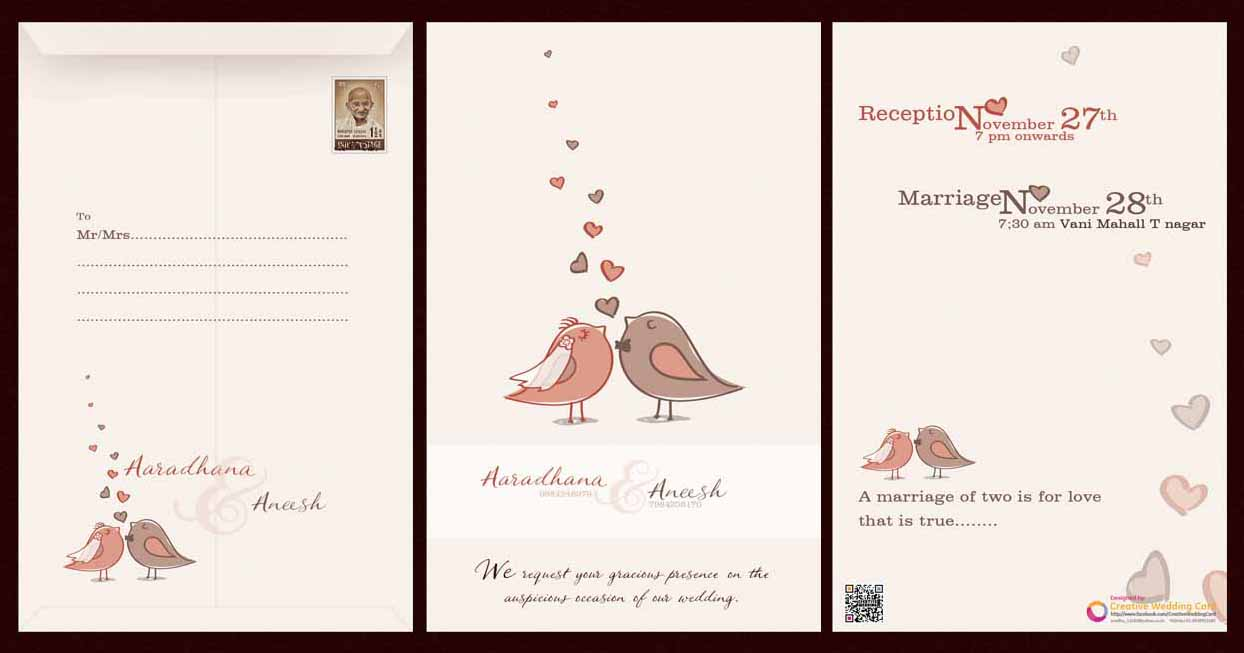 Creative wedding card stopboris Images