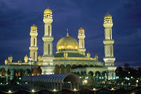 Jame Asr Hassanal Bolkiah Mosque Kampong Kiarong brunei