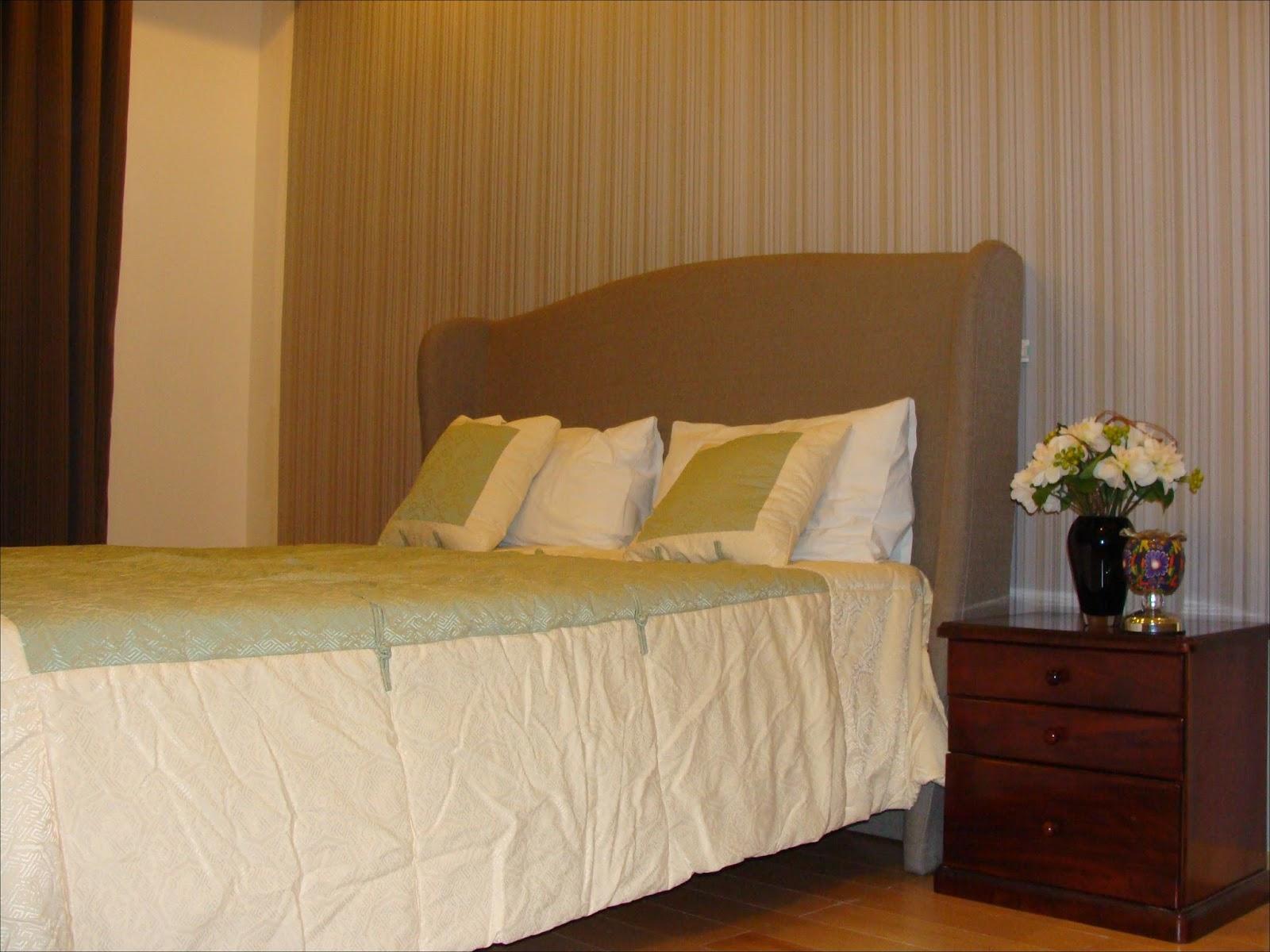 Phòng ngủ chính căn hộ The Vista