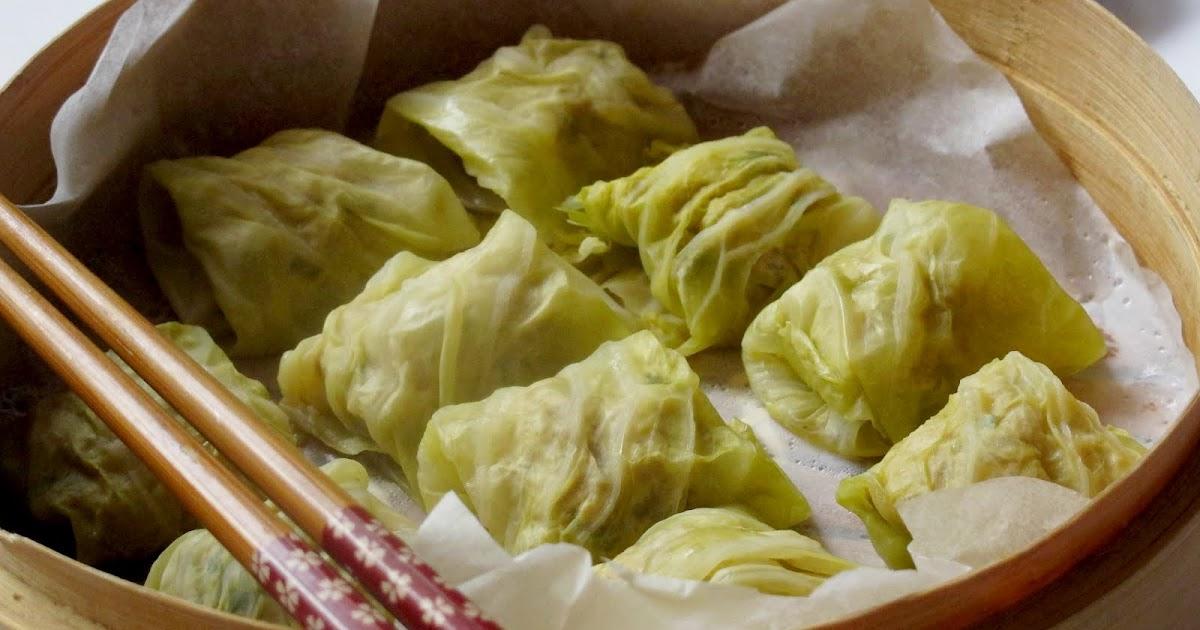 Mummy, I can cook!: Steamed Cabbage Dim-Sum Dumplings