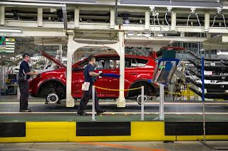 2013 Toyota RAV4 assembly plant Woodstock Ontario