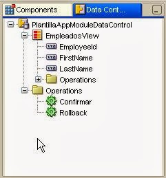 componentes datacontrol palette