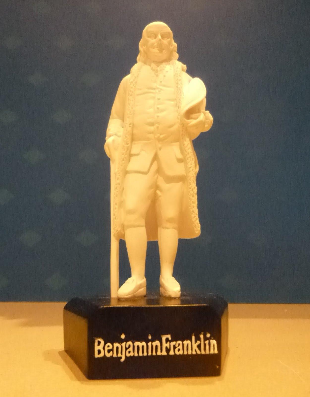 Benjamin Franklin By Jean-Antoine Houdon