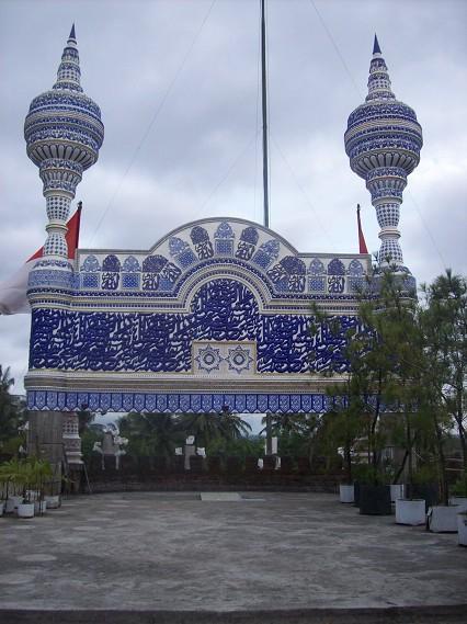 At Masjid Tiban Turen Malang