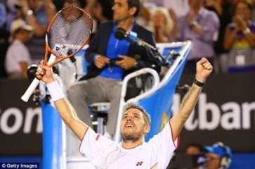 Stan Wawrinka (Swiss): <br> 2014 Winner at Aussie Open Tennis
