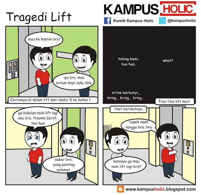 #049 Tragedi Lift di kampus