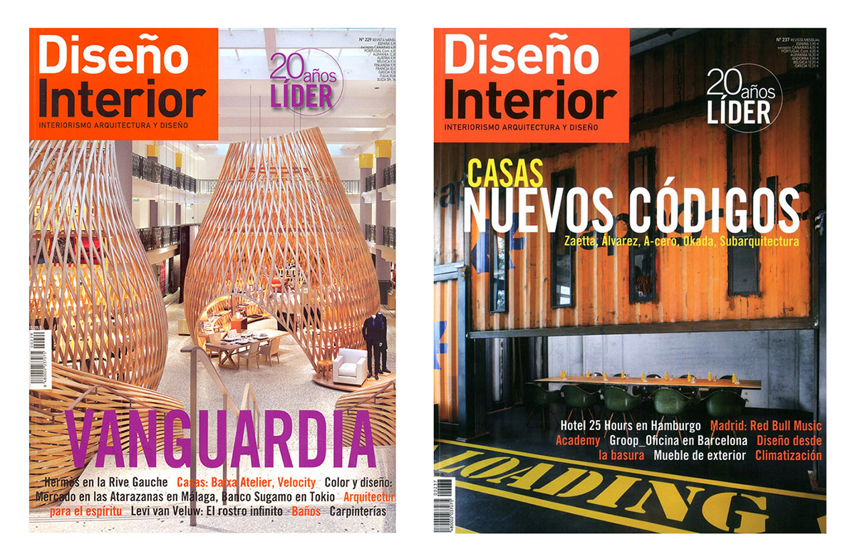 Las tres mejores revistas de decoraci n y dise o en for Revistas de diseno de interiores
