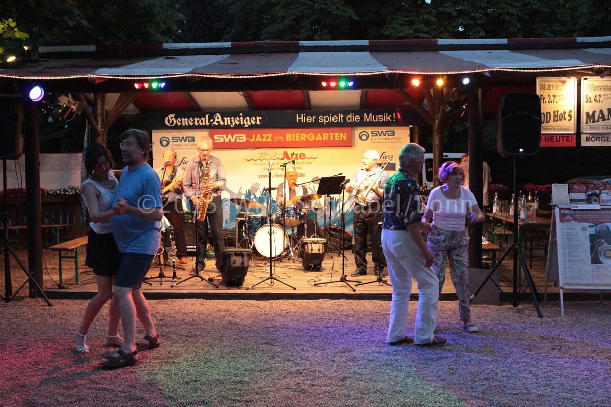 Jazz im Biergarten Bonn 2015