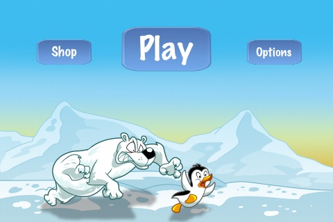 Racing Penguin Flying Free App Game By Top Free Games