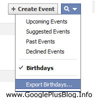 How To Import Facebook Friends Birthday To Google Calendar