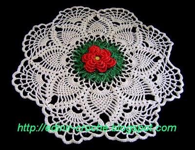 croche toalha toalhas vermelho verde branco colorido tradicional aprender ccroche blog edinir-croche dvd