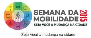 Logotipo da Semana da Mobilidade 2015