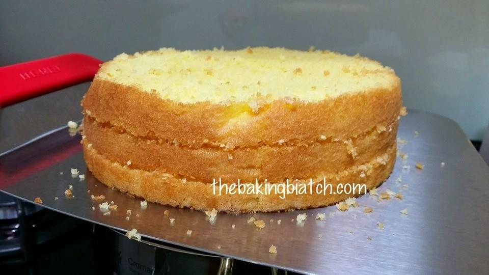 Mousse sponge cake recipe