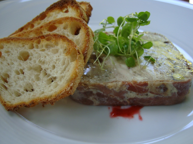 Oakdene gourmet chick on the surf coast gourmet chick for Chicken and pork terrine with pistachio
