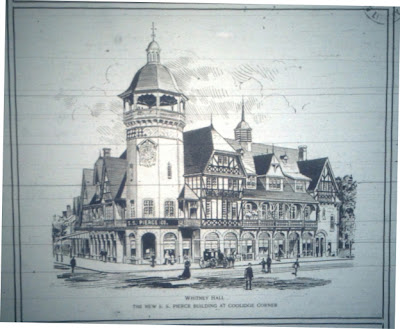 S.S. Pierce Building sketch, 1899