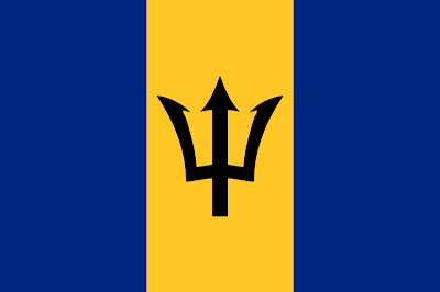 National Flag of Barbados
