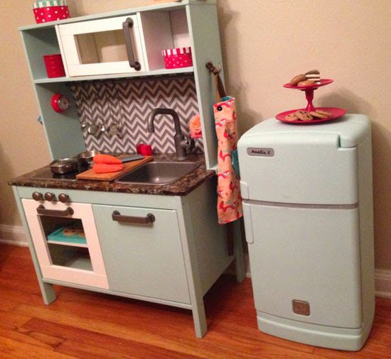 The Bright Side Of Rain Clouds: Ikea Play Kitchen Hacks