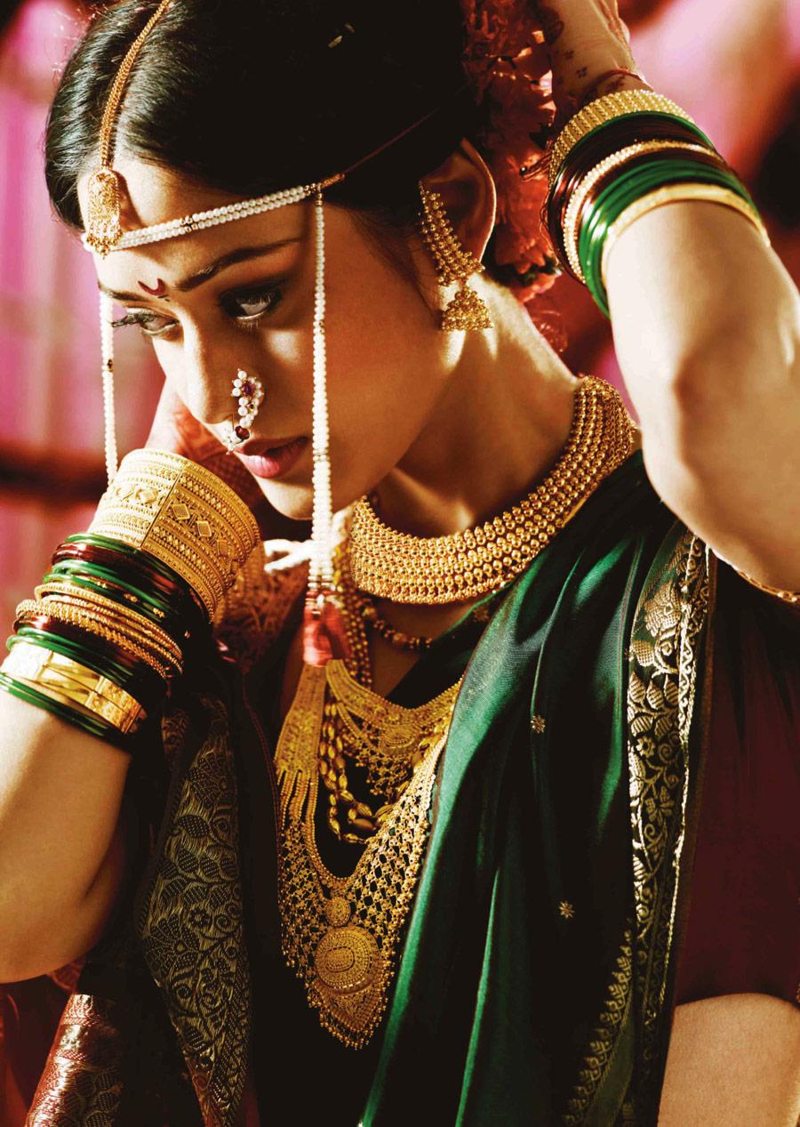 Marriage ornaments - Maharashtrian Wedding Bridal Jewelry