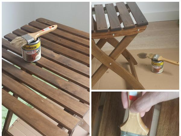 Preparando la madera