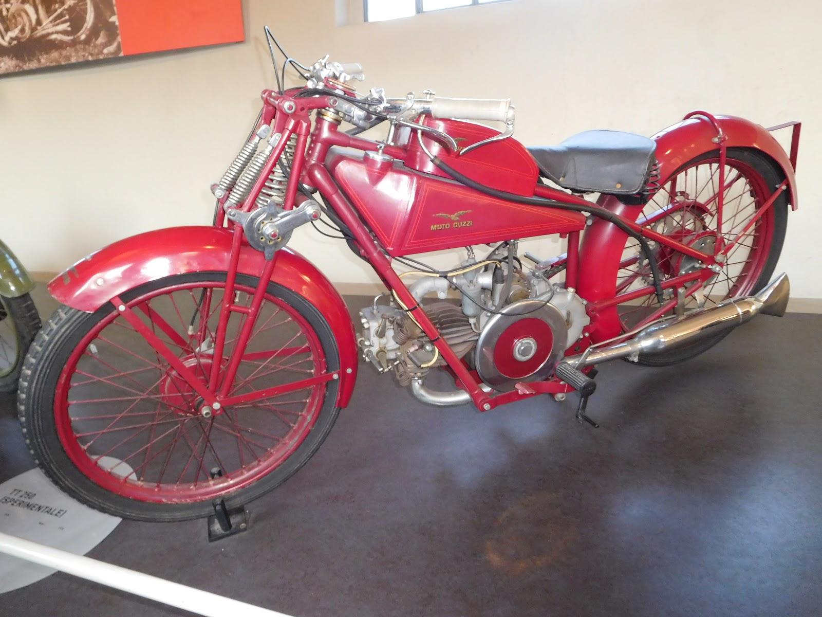 NYDucati:  1926 Moto Guzzi TT 250 Sperimentale